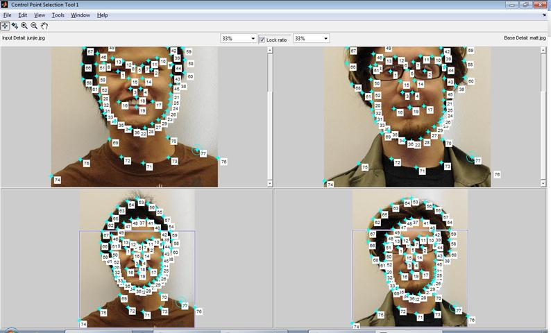 15-463 Project #3: Face Morphing