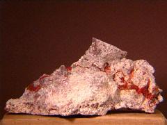 Cuprite variety Chalcotrichite