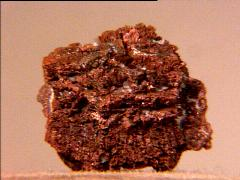 Copper after Aragonite