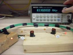 Magnetic Resonant Coupling Experiment