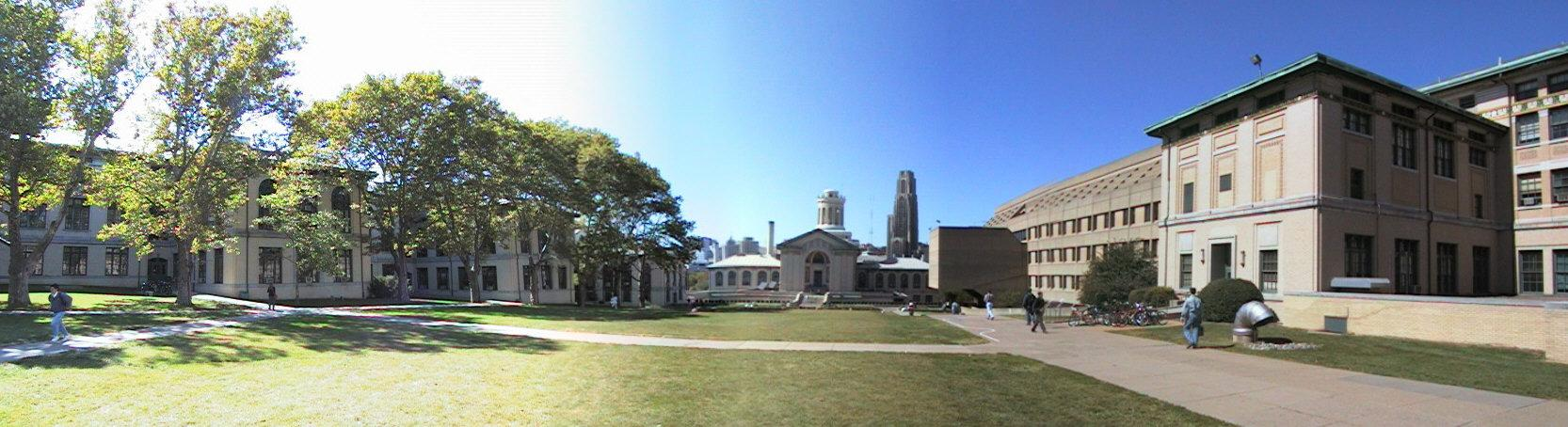 [Carnegie Mellon University campus panorama]