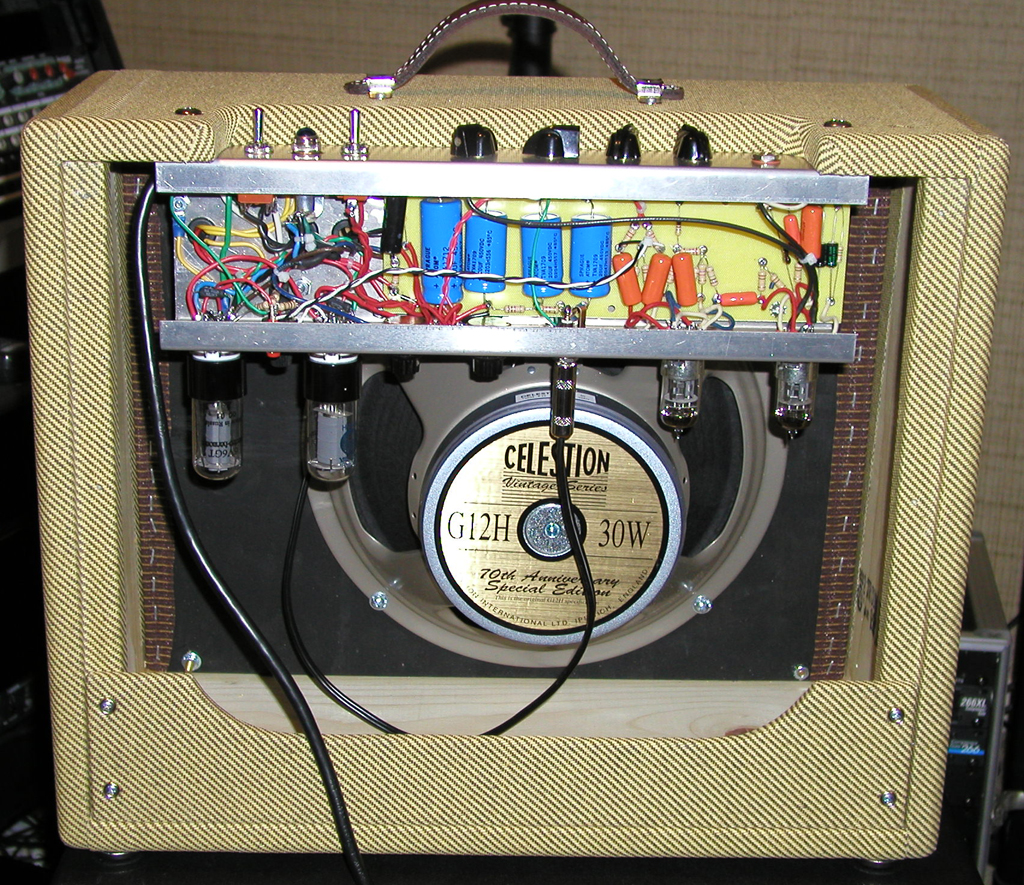 Ehns Ax84 Page 5wtubeamplifiercircuitwithel84gif Heres A Push Pull Octal Amp Thats Loosely Based On Fender Blackface Specs Tweed Deluxe Iron But With Pro Reverb Preamp And Long Tail Pi