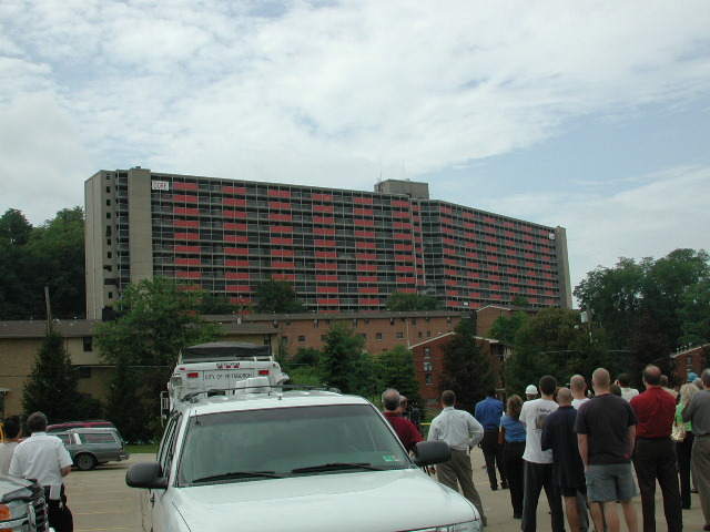 Garfield Heights High Rise Implosion