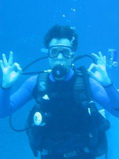 Randy Paush, plongée sous-marine