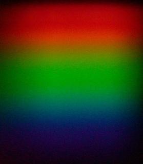 La luz Incadesente presenta un espectro continuo