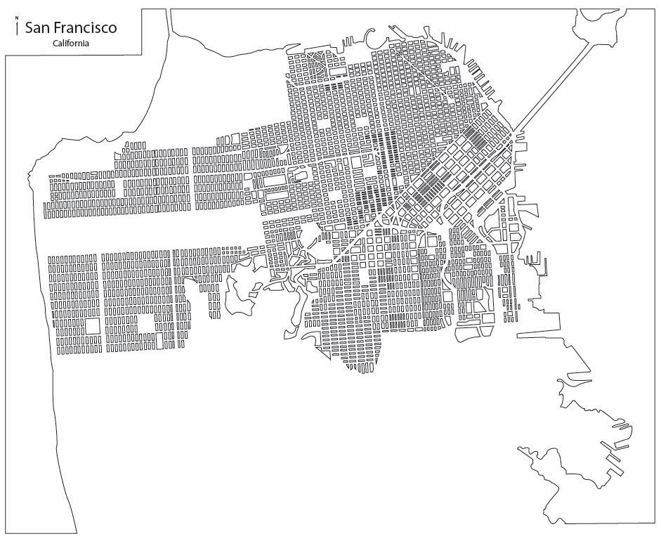 Tommy Doyle: San Francisco Map