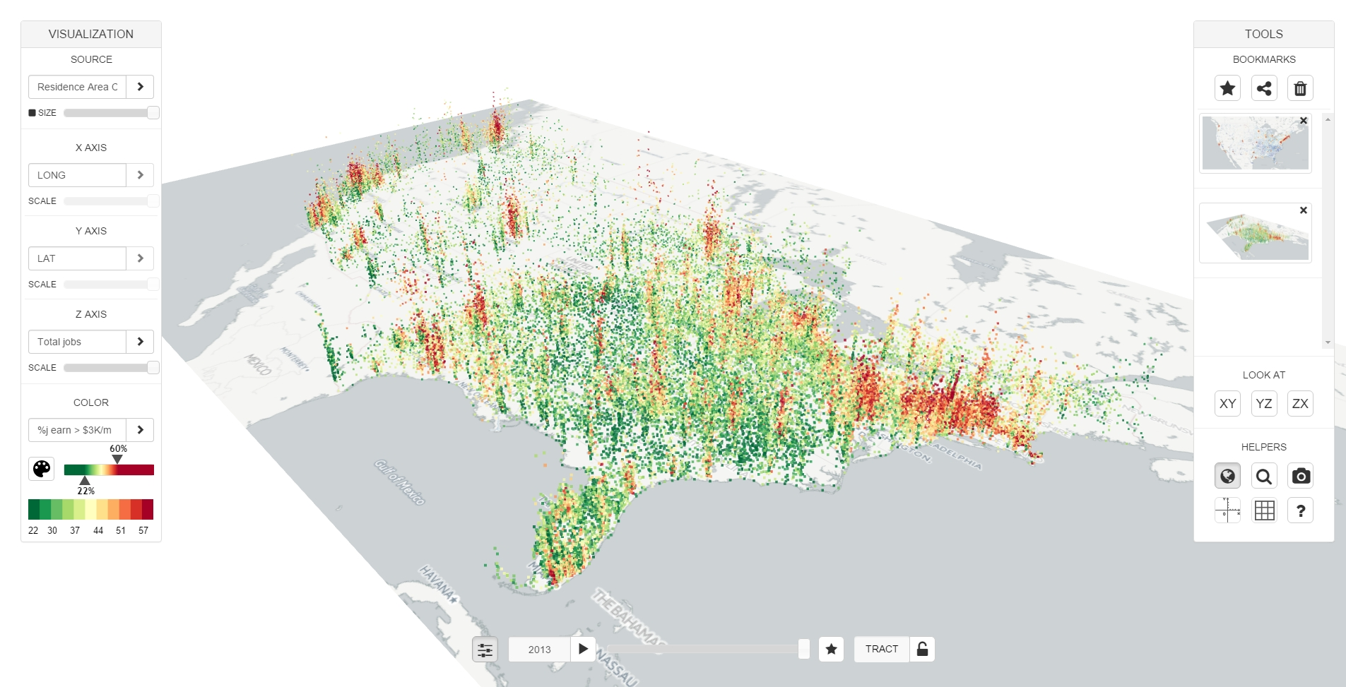 web tool helps people visualize make sense of large
