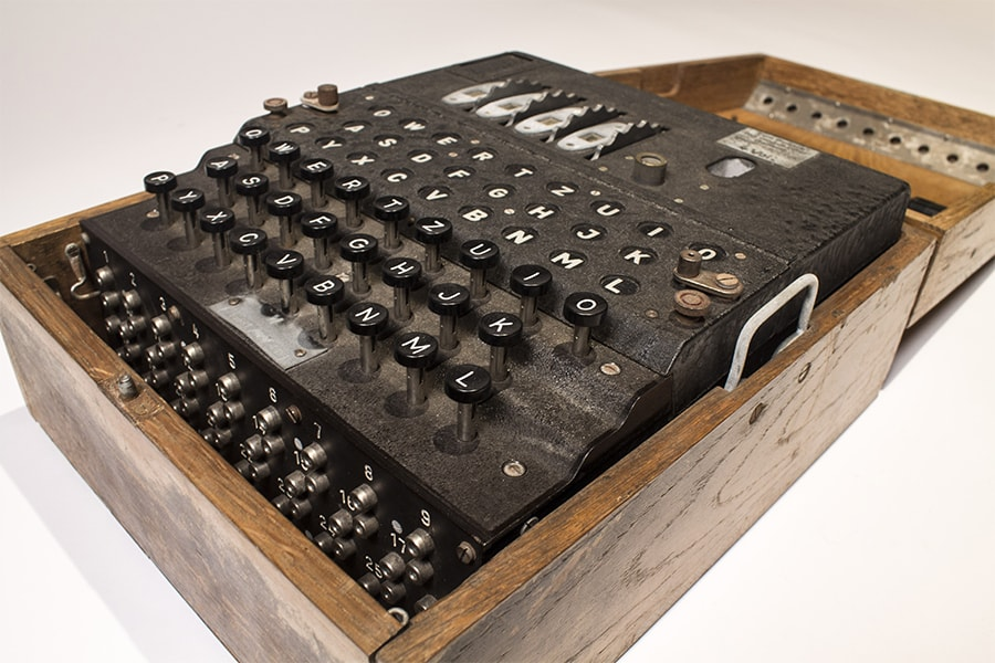 enigma machines among computing gems added to university
