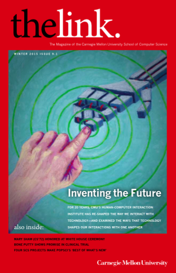 Cover of the Winter 2015 issue of The Link