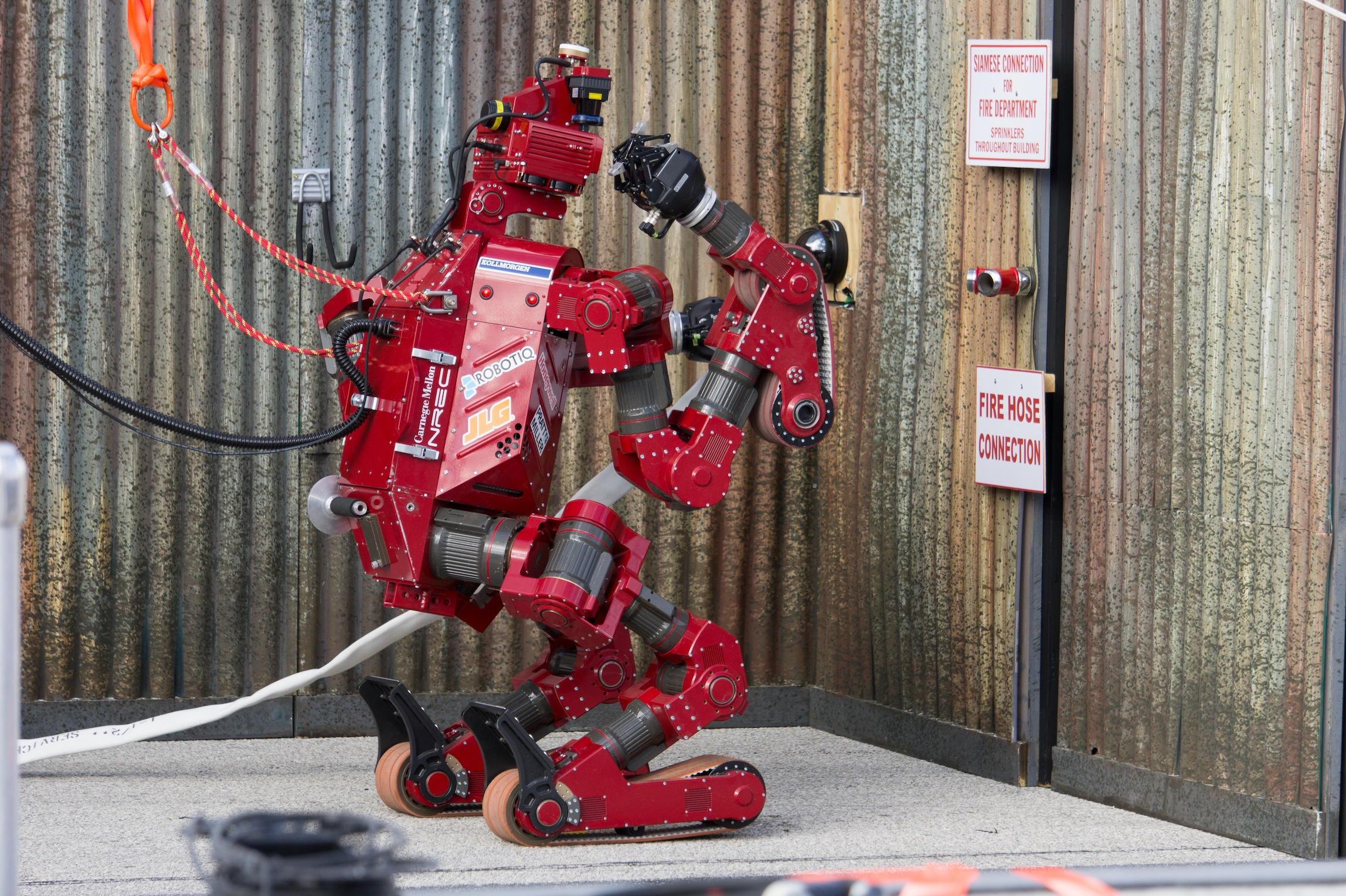 Tough Tasks For A Tough Robot Carnegie Mellon School Of