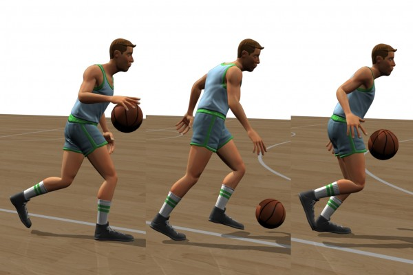 How a Computer Learns To Dribble: Practice, Practice, Practice