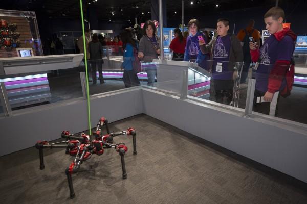 Hebi S Six Legged Daisy Joins Robot Revolution Exhibit Carnegie