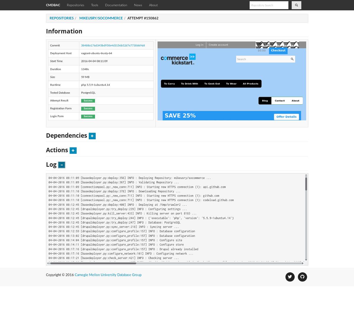The Carnegie Mellon Database Application Catalog // Blog // Andy