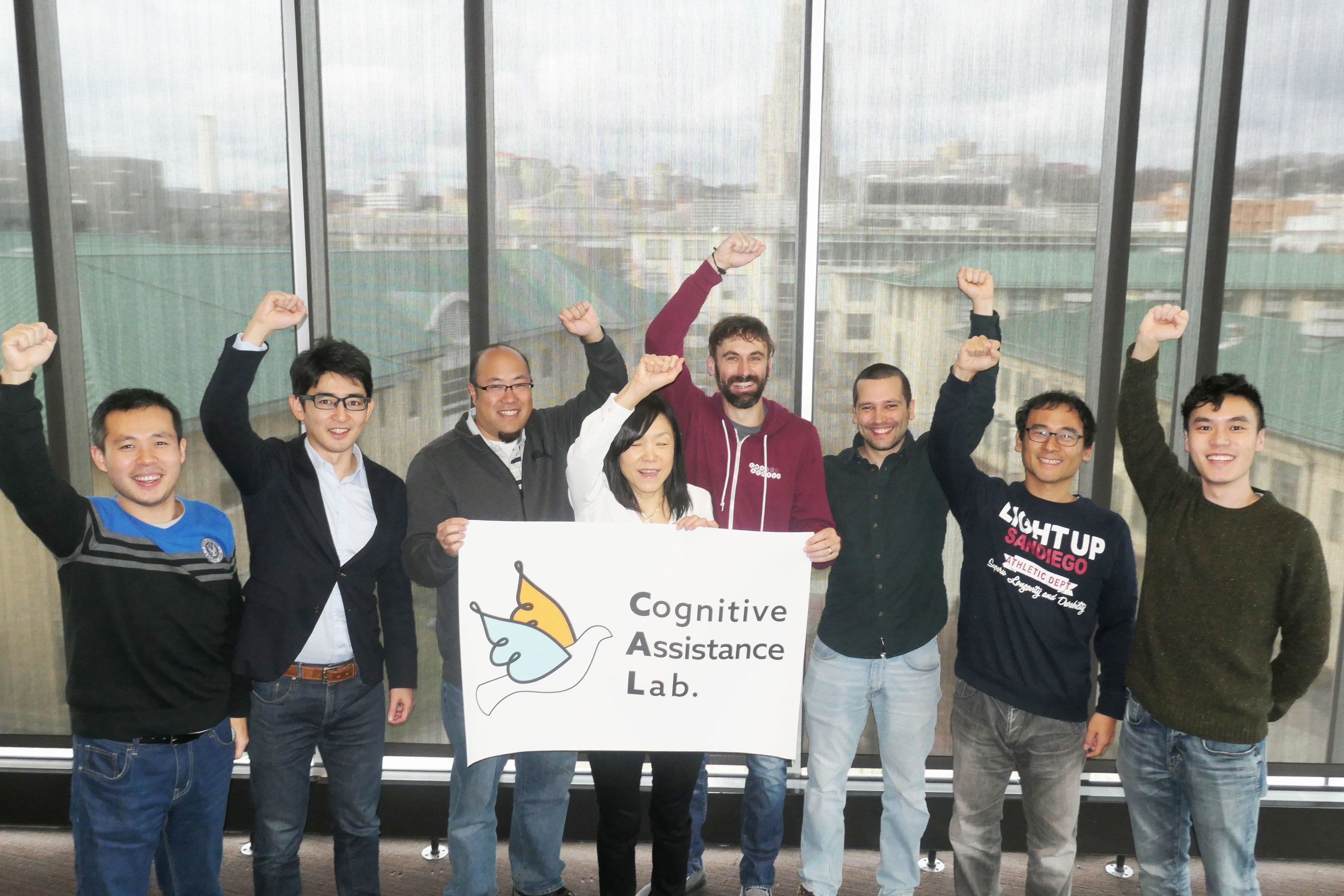 members of cognitive assistance lab.