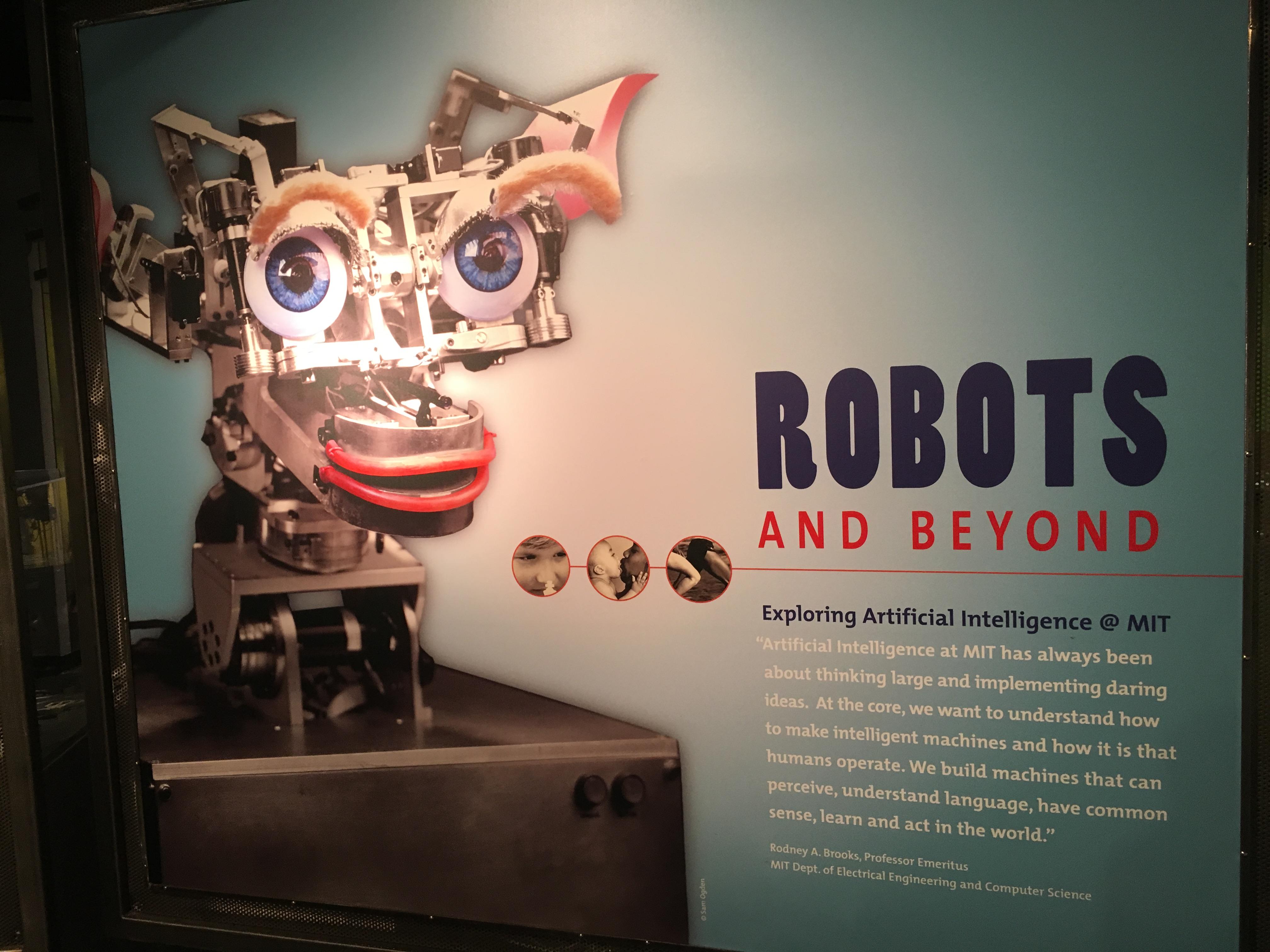 MIT Museum Robot Exhibit: Virtual Tour