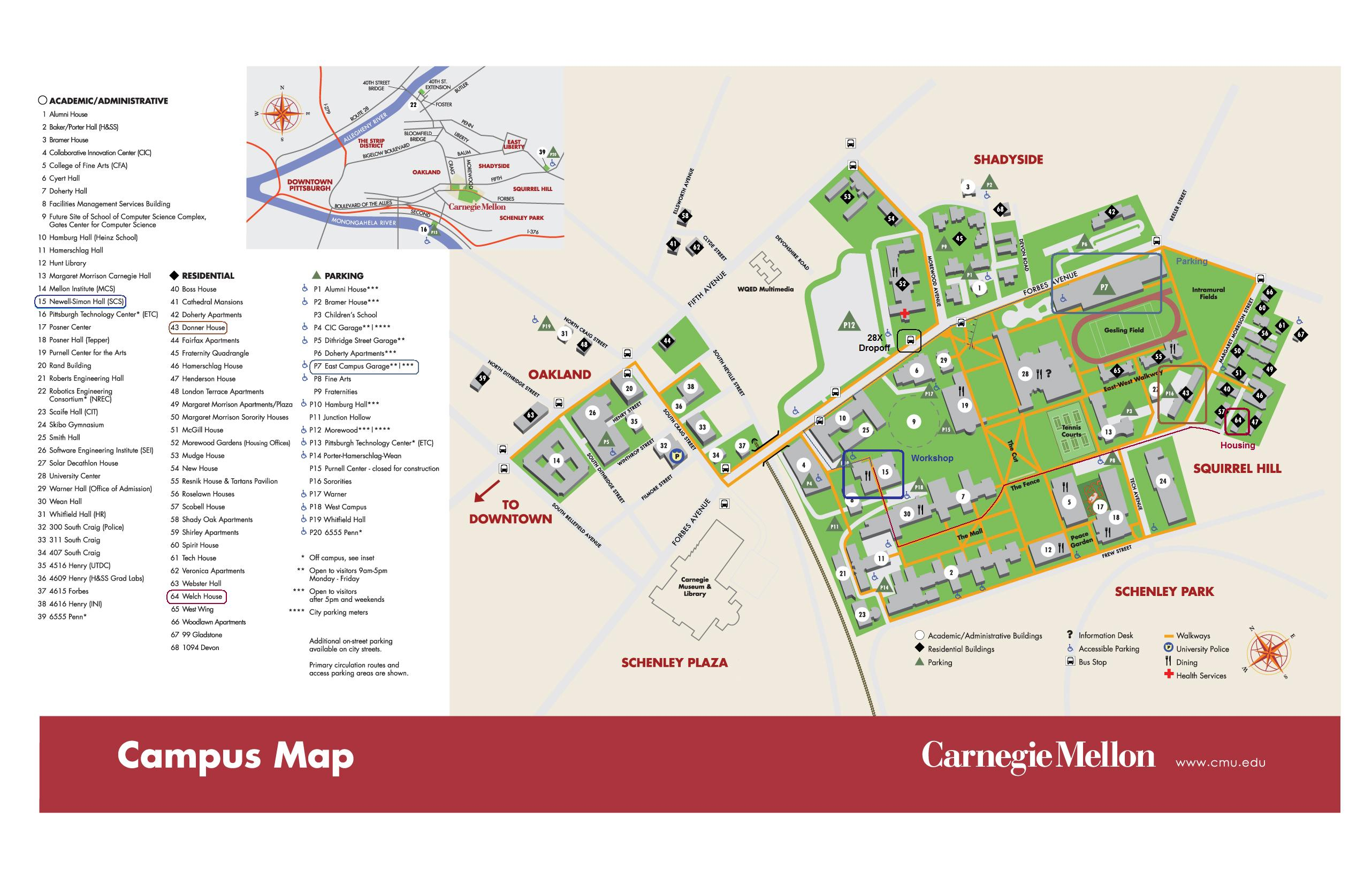 up main campus map Csbots Logistics up main campus map