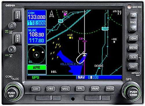 garmin gotchas gns 530 gps rh cs cmu edu Garmin GPS Backup Camera System Garmin 430 IFR