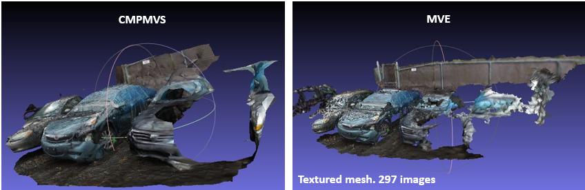 Reconstruction in MVE