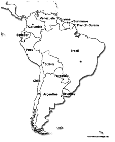 south america coloring pages for kids | 15-105 Homework Assignment